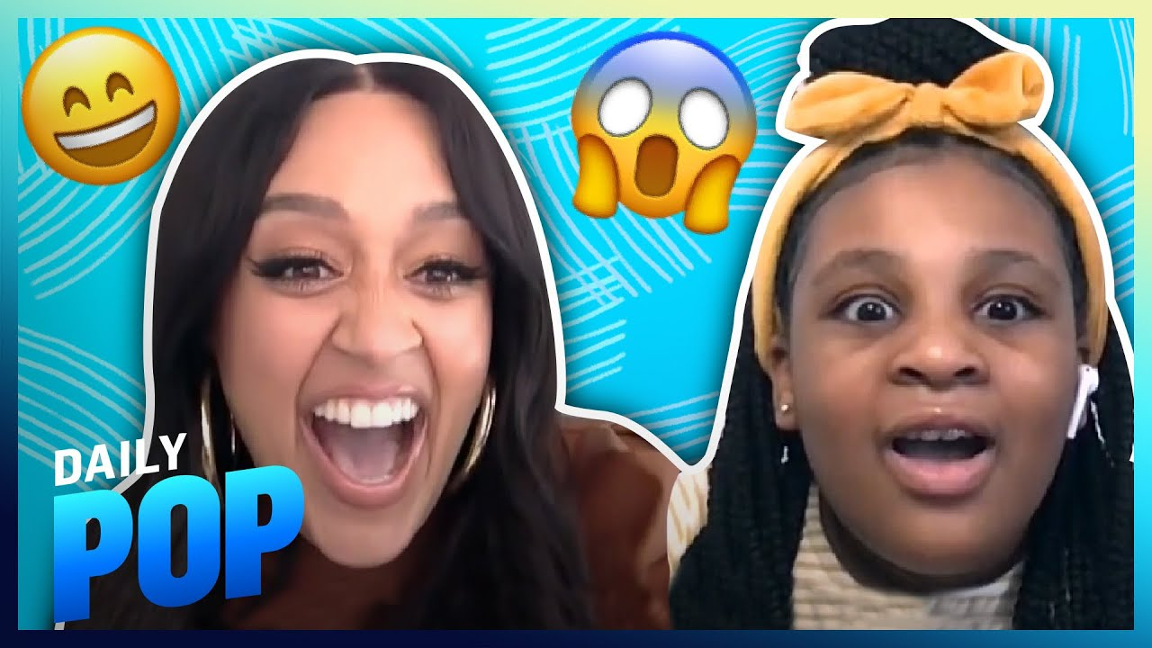 Tia Mowry Surprises Superfan and Her Reaction Is EVERYTHING! | Daily Pop | E! News
