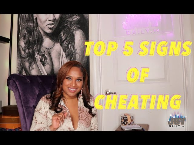 Top 5 Signs You're Being Cheated On