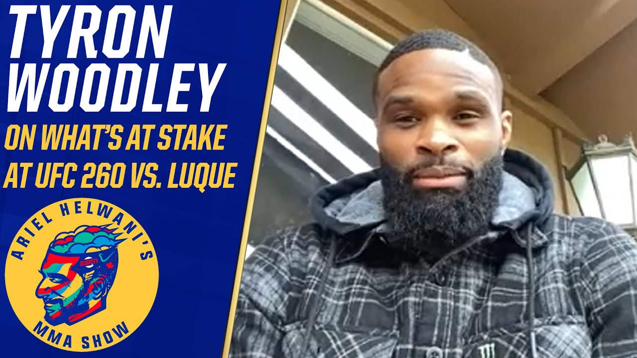 Tyron Woodley on if he's fighting for his UFC career vs. Vicente Luque | Ariel Helwani's MMA Show