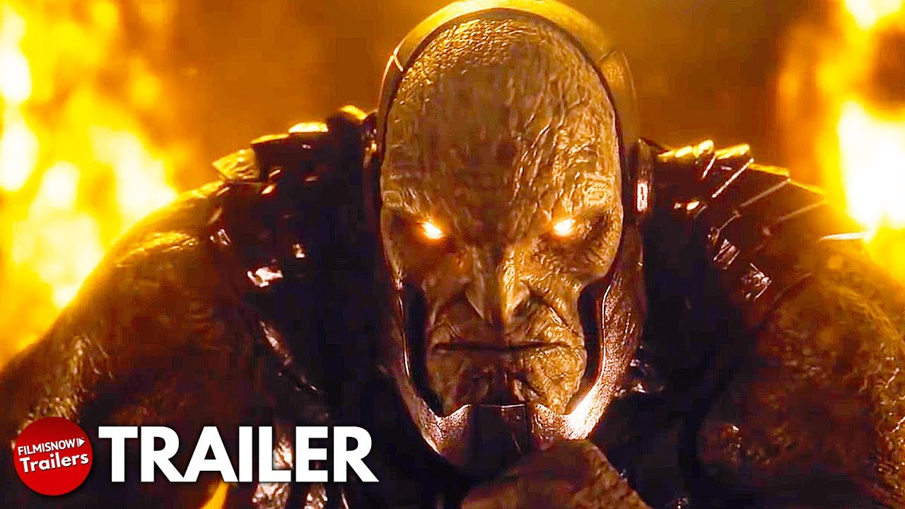 ZACK SNYDER'S JUSTICE LEAGUE Trailer NEW (2021) DC Superhero Movie