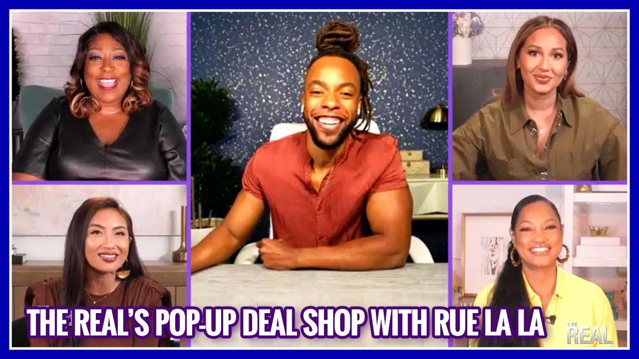 Amazing Deals at The Real's Pop-Up Deal Shop with Rue La La