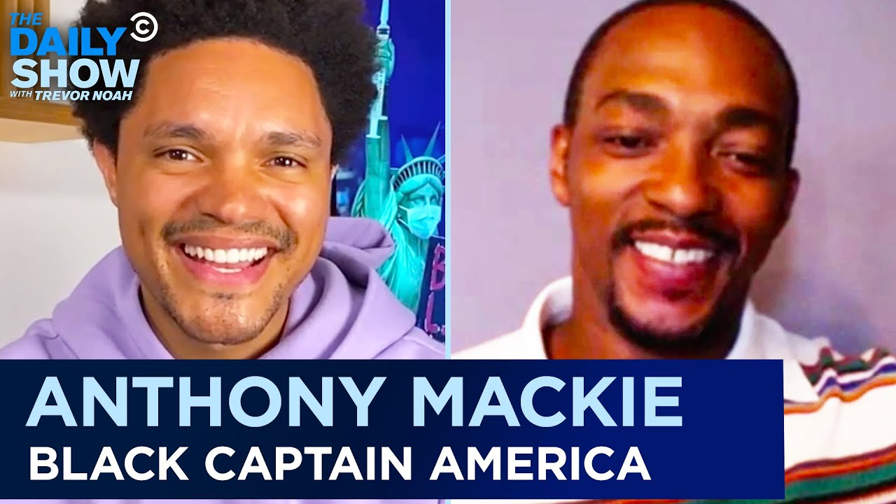Anthony Mackie - Becoming the First Black Captain America | The Daily Show