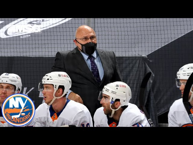 Barry Trotz Reacts To Game 2 Loss vs. Penguins   New York Islanders