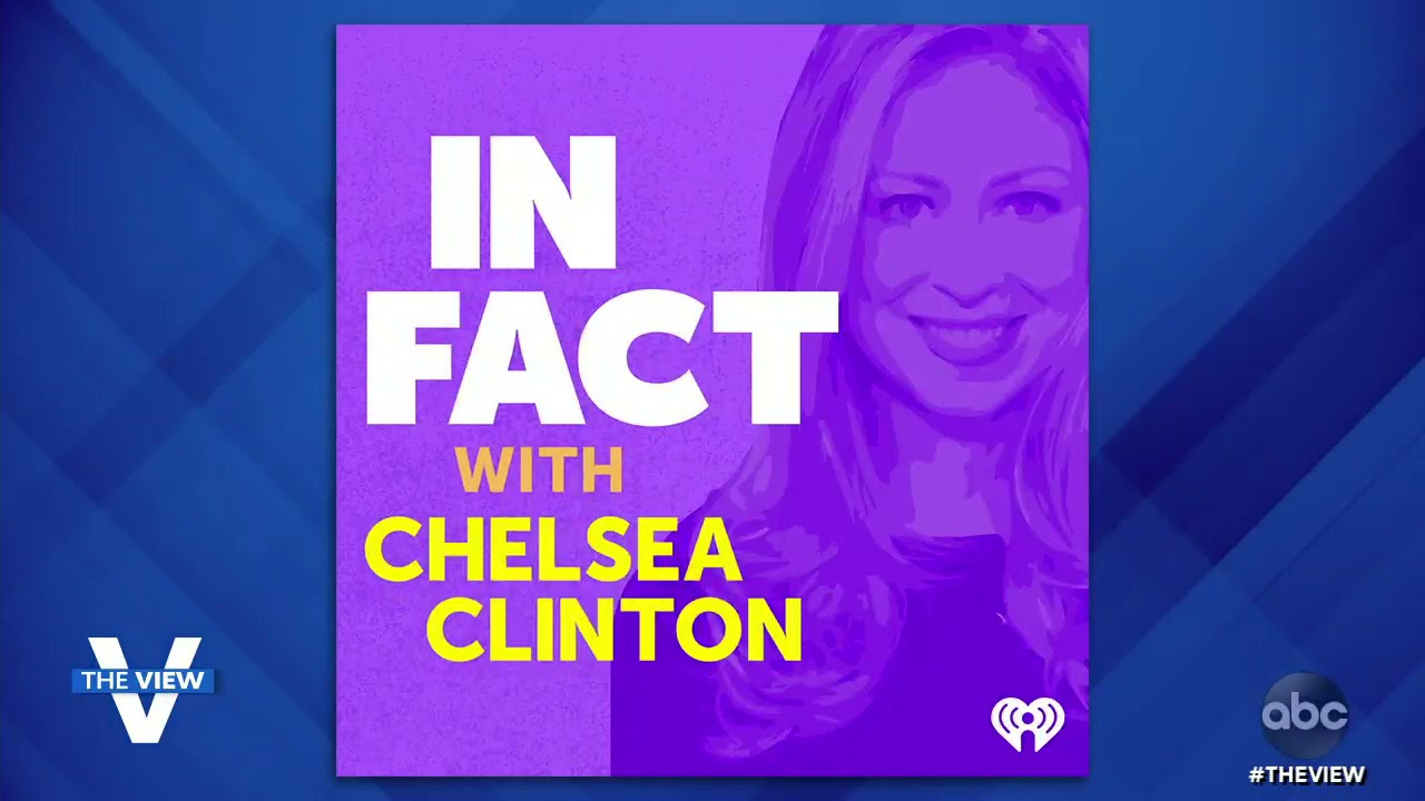 Chelsea Clinton Discusses Inspiration Behind New Children's Book, Podcast | The View