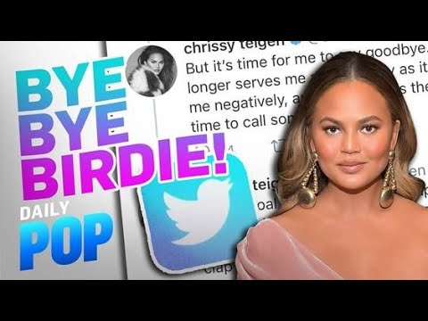 "Chrissy Teigen Deletes Twitter After Feeling ""Deeply Bruised"" 