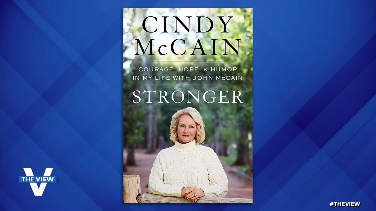 """Cindy McCain Discusses Grief, Motherhood and Pill Addiction in New Memoir """"Stronger"""" 