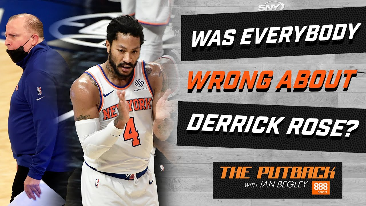 Derrick Rose, Luca Vildoza and the downward-trending Nets | The Putback with Ian Begley | SNY
