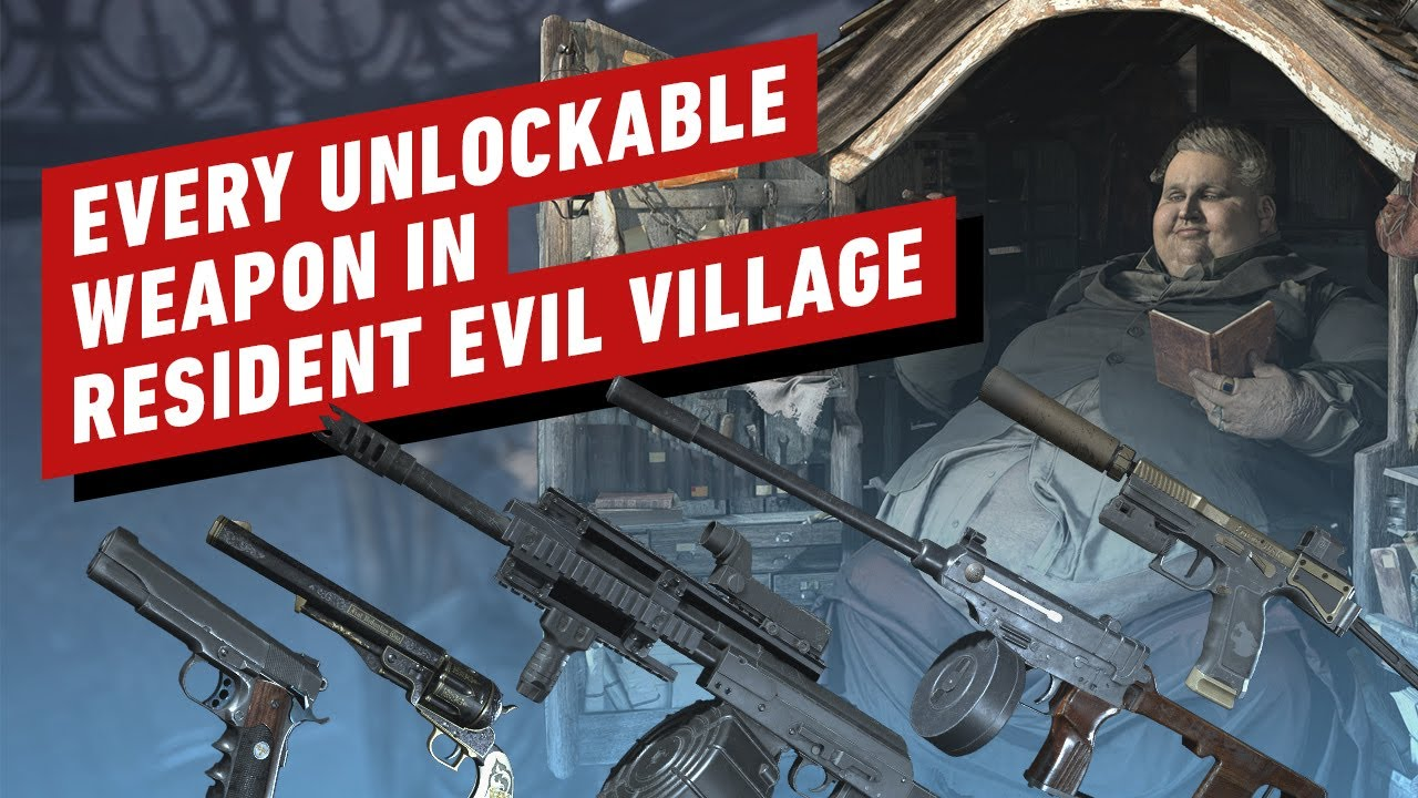 Every Unlockable Weapon In Resident Evil Village
