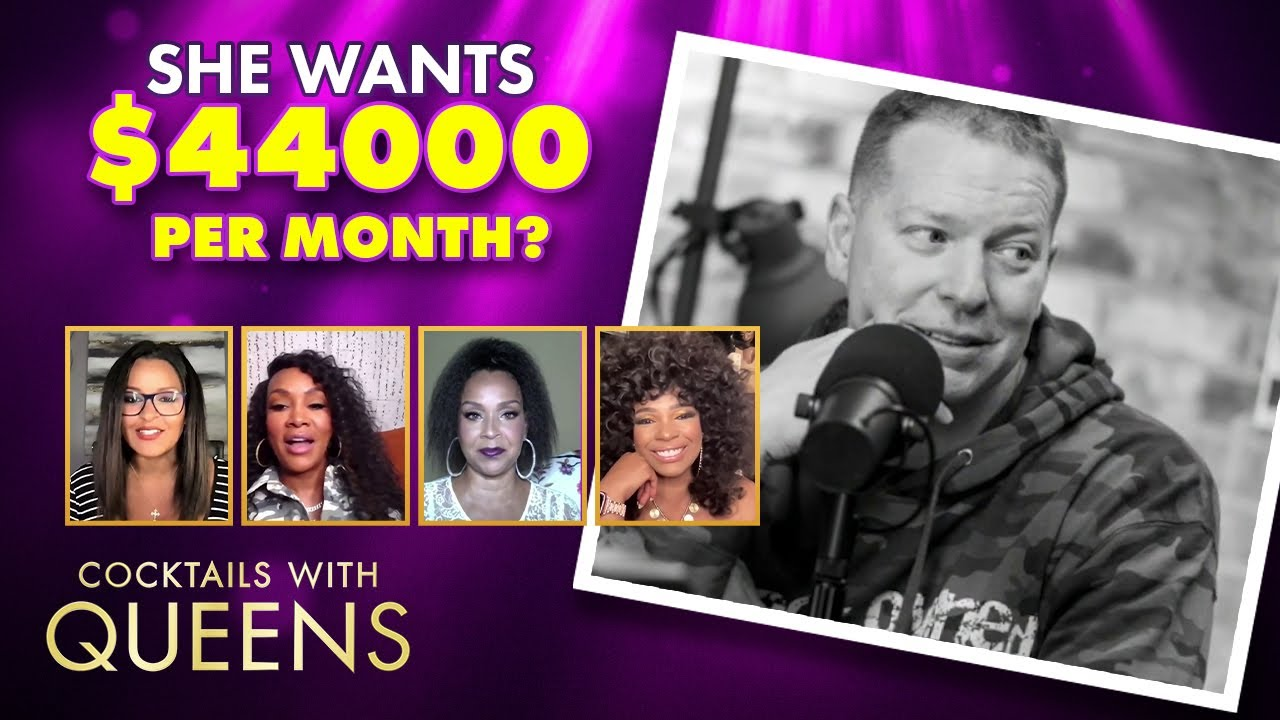 Gary Owen's Ex-Wife Seeking $44k a Month in Spousal Support !! | Cocktails with Queens