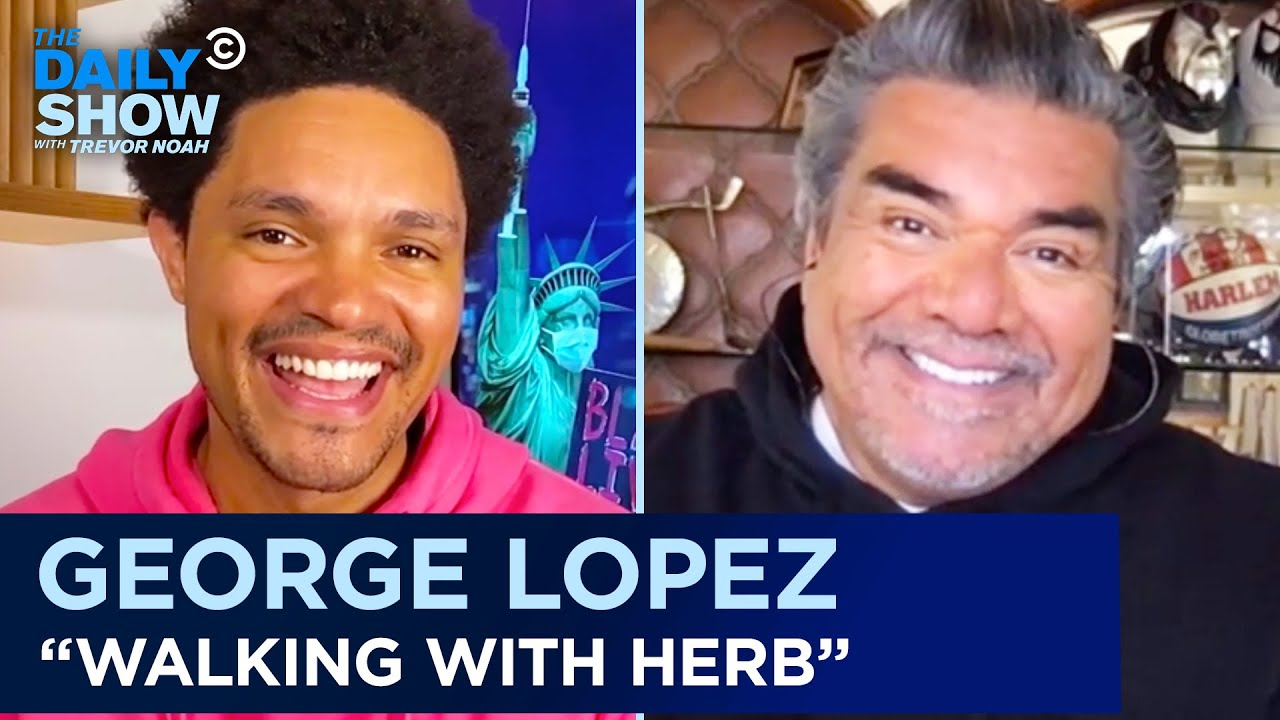 """George Lopez - """"Walking with Herb"""" & His Run-In with the Secret Service 