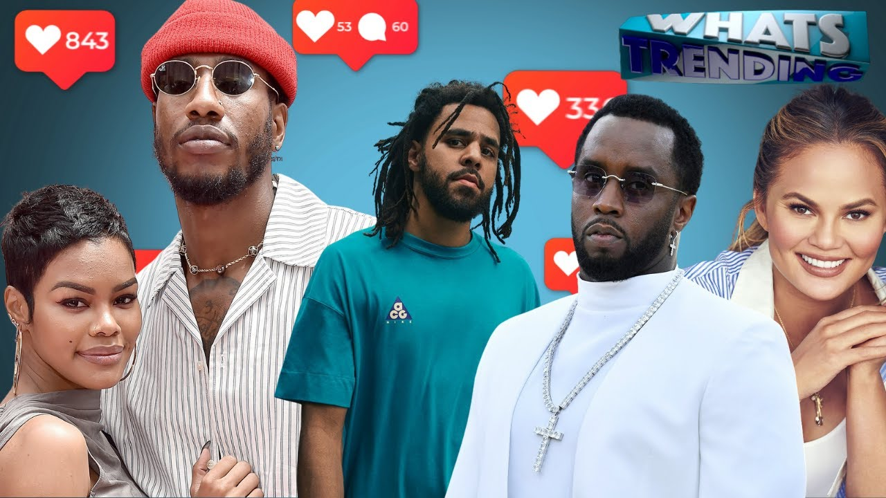 J. Cole Fights Diddy, Teyana Taylor & Iman Shumpert Headed To Reality TV, & Chrissy Teigen Canceled