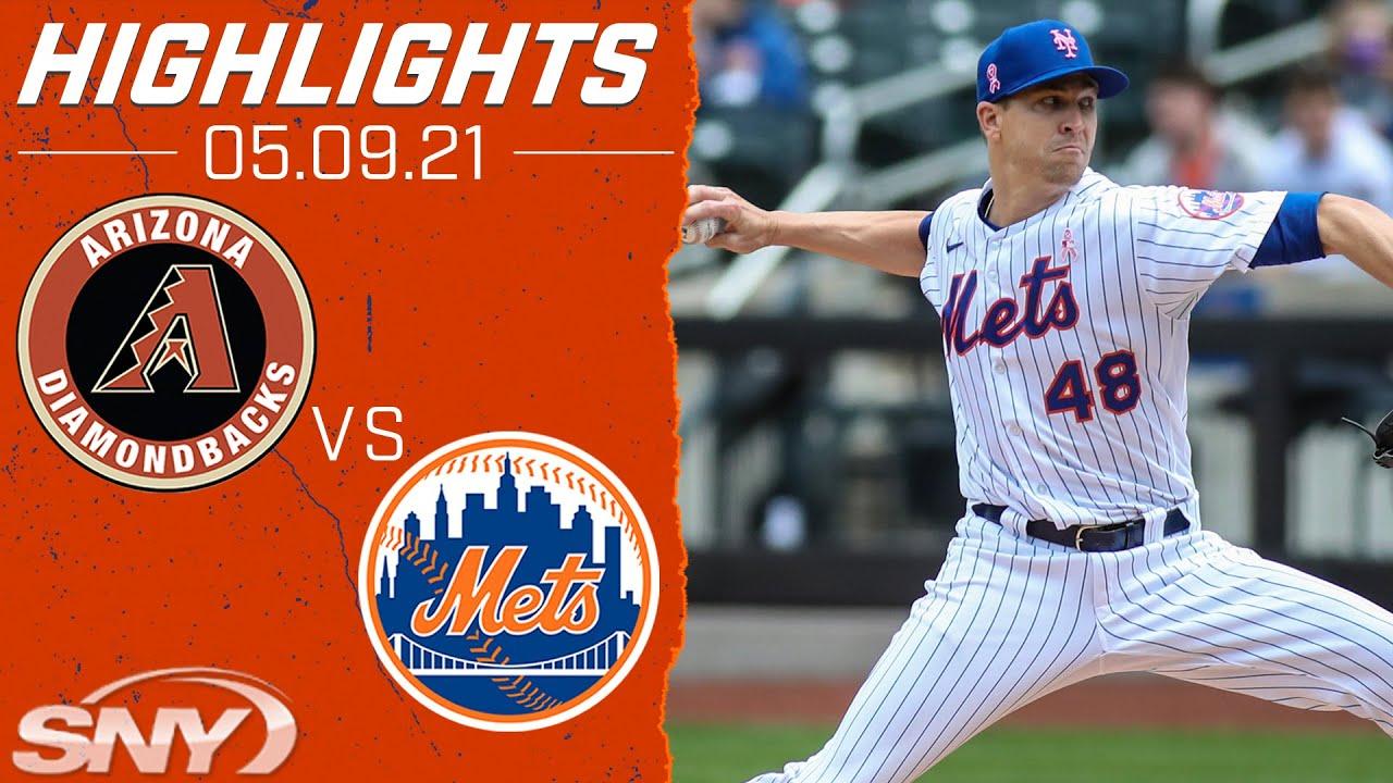 Jacob deGrom gets the win as the Mets sweep the Diamondbacks   Mets vs Diamondbacks Highlights   SNY