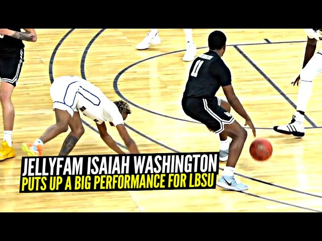 Jelly Fam Isaiah Washington Puts Up a BIG PERFORMANCE For Long Beach State!! Averaging Career Highs!