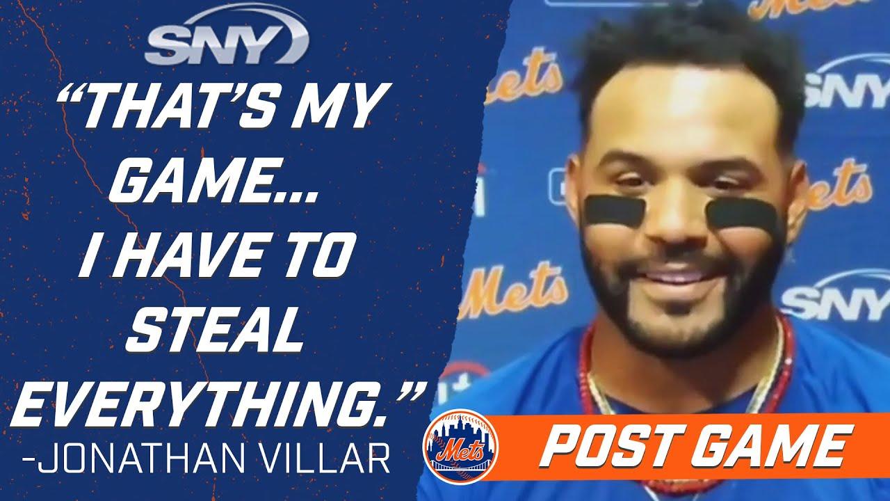Jonathan Villar breaks down heads-up baserunning in eighth-inning rally vs Phillies | Mets | SNY