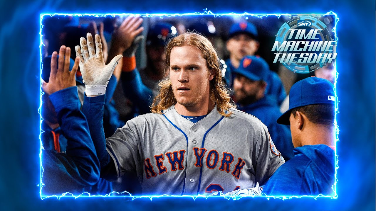 Mets pitcher Noah Syndergaard goes deep twice against LA in 2016 | Time Machine Tuesday | SNY