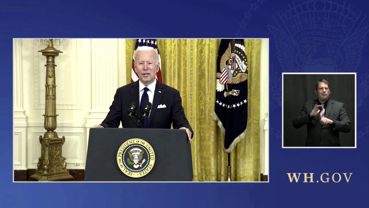 President Biden Delivers Remarks on the April Jobs Report