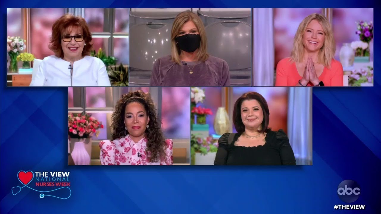 The View' Surprises Nurse Wendy for National Nurses Week   The View