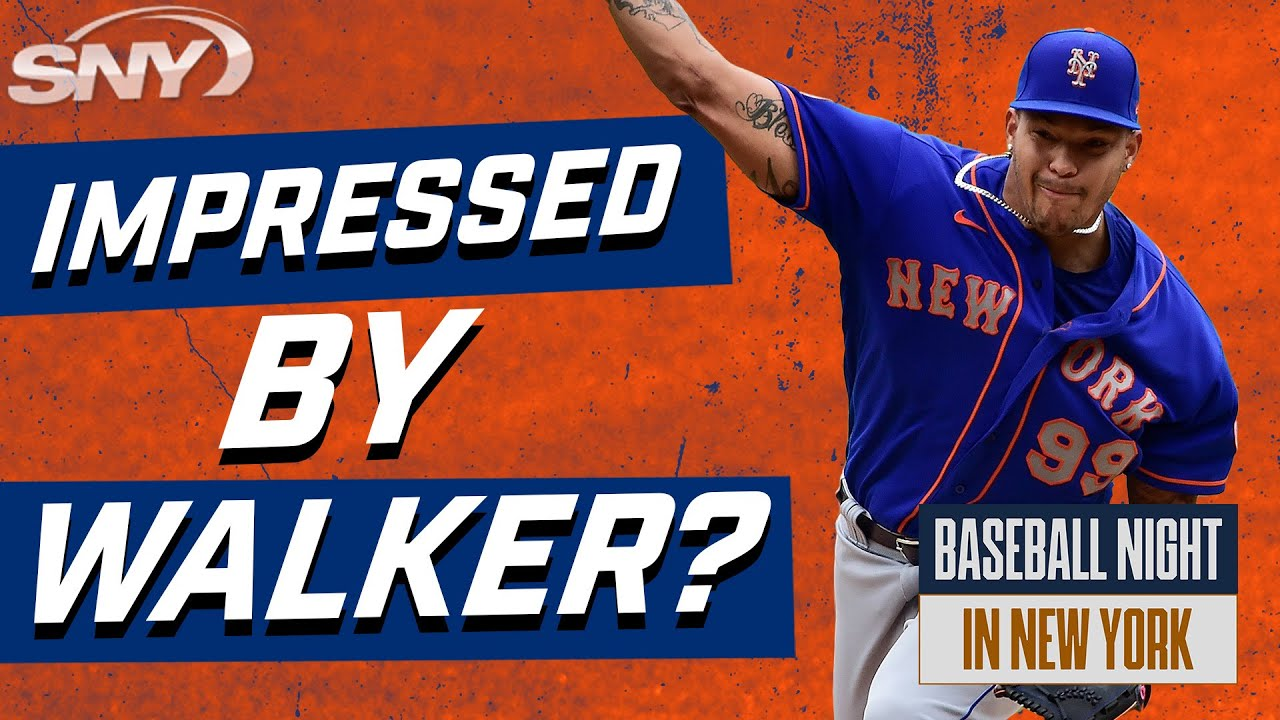 Were the Mets expecting this type of production from Taijuan Walker?   Baseball Night in NY   SNY