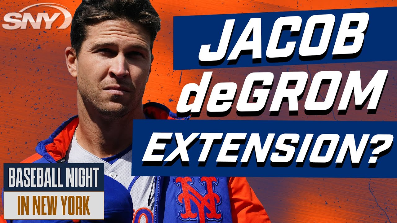 What could it take for the Mets to actually get a Jacob DeGrom extension done?   BNNY   SNY