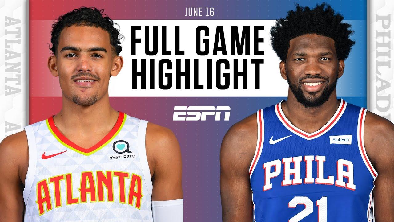 Atlanta Hawks at Philadelphia 76ers   Full Game Highlights