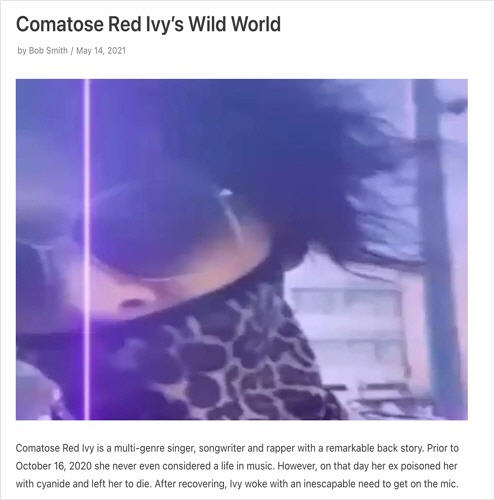 Comatose Red Ivy - HOW TO MAKE F*GGOT LIL WAYNE SONG (SAY NOTHING FREESTYLE) [Audio]