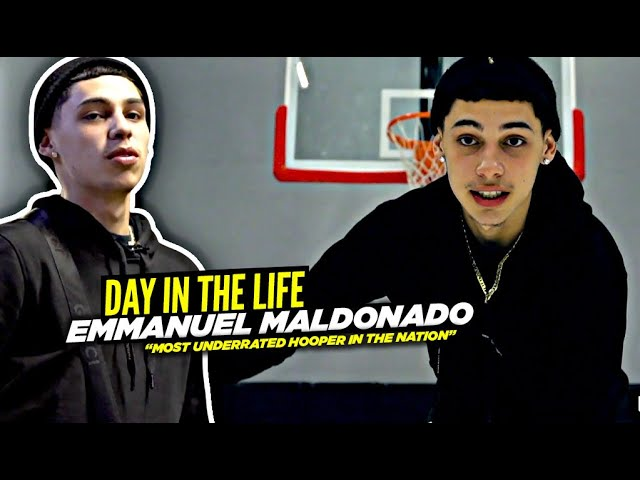 Emmanuel Maldonado Is The Most UNDERRATED Hooper In The Country | Day In The Life