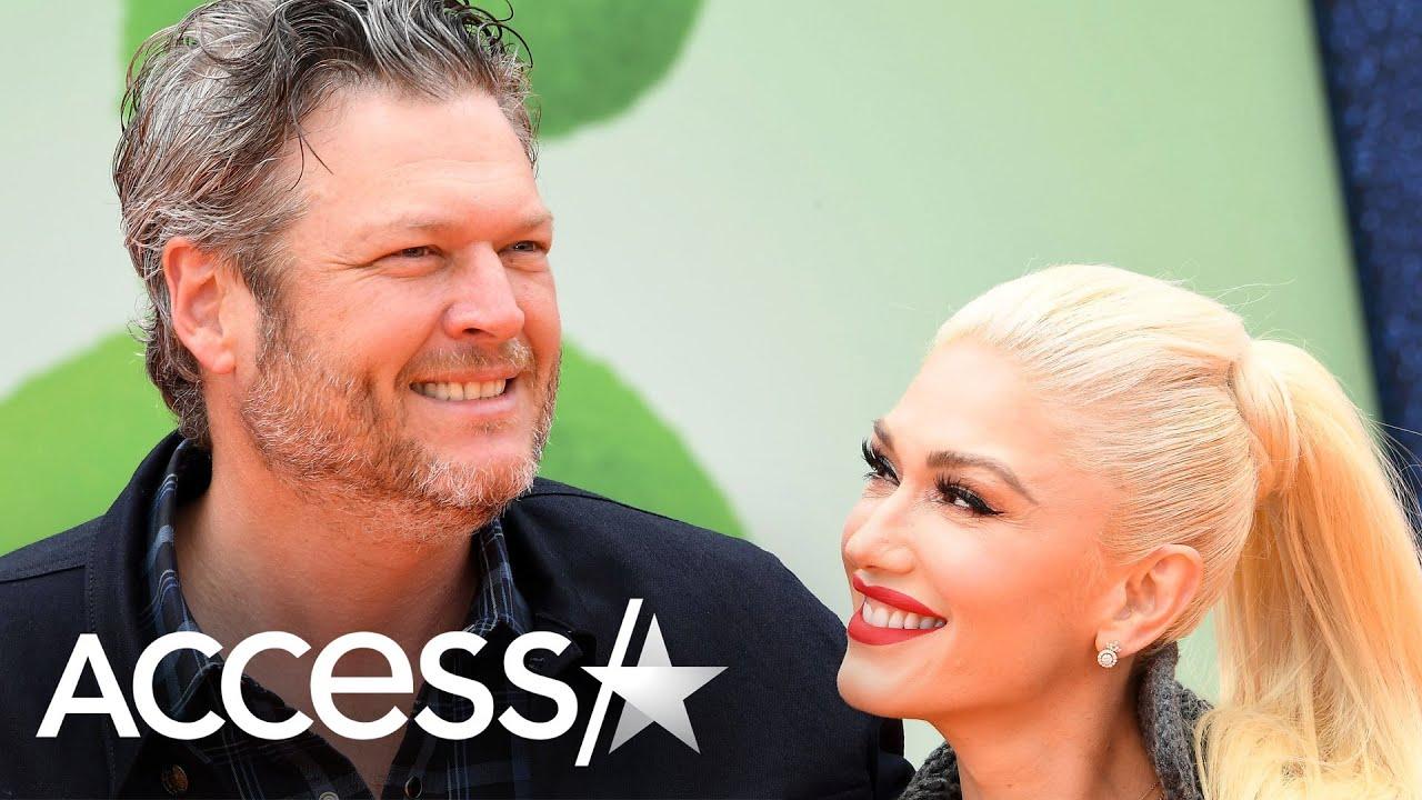 Gwen Stefani Surprises Blake Shelton w/ Birthday Party