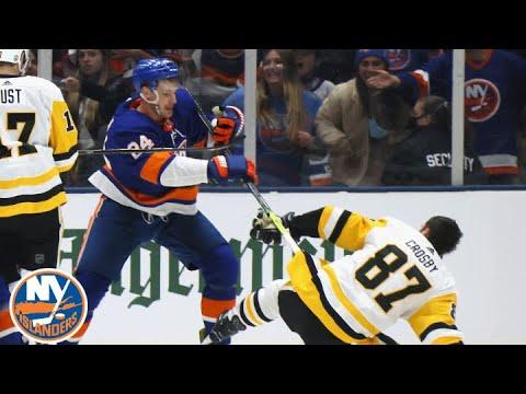 Islanders Fall To Penguins 5-4 In Wild Game 3   New York Islanders