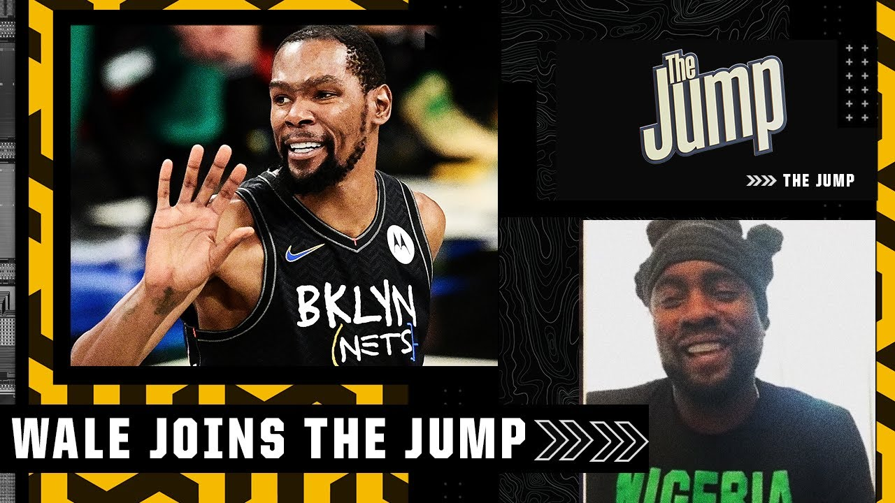 ⌚'It's his time' - Wale on Kevin Durant 'bouncing back and playing out of his mind' 🤯  The Jump