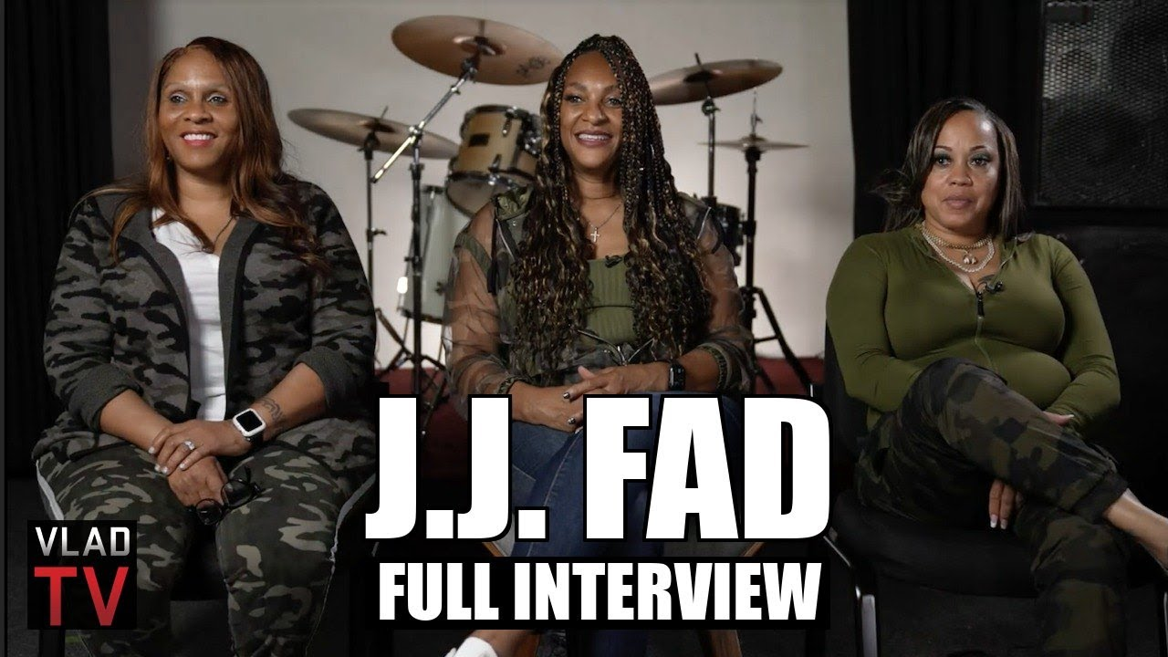 JJ Fad on 'Supersonic', Ruthless, Eazy-E, Dr Dre, Fergie, NWA Movie (Full Interview)