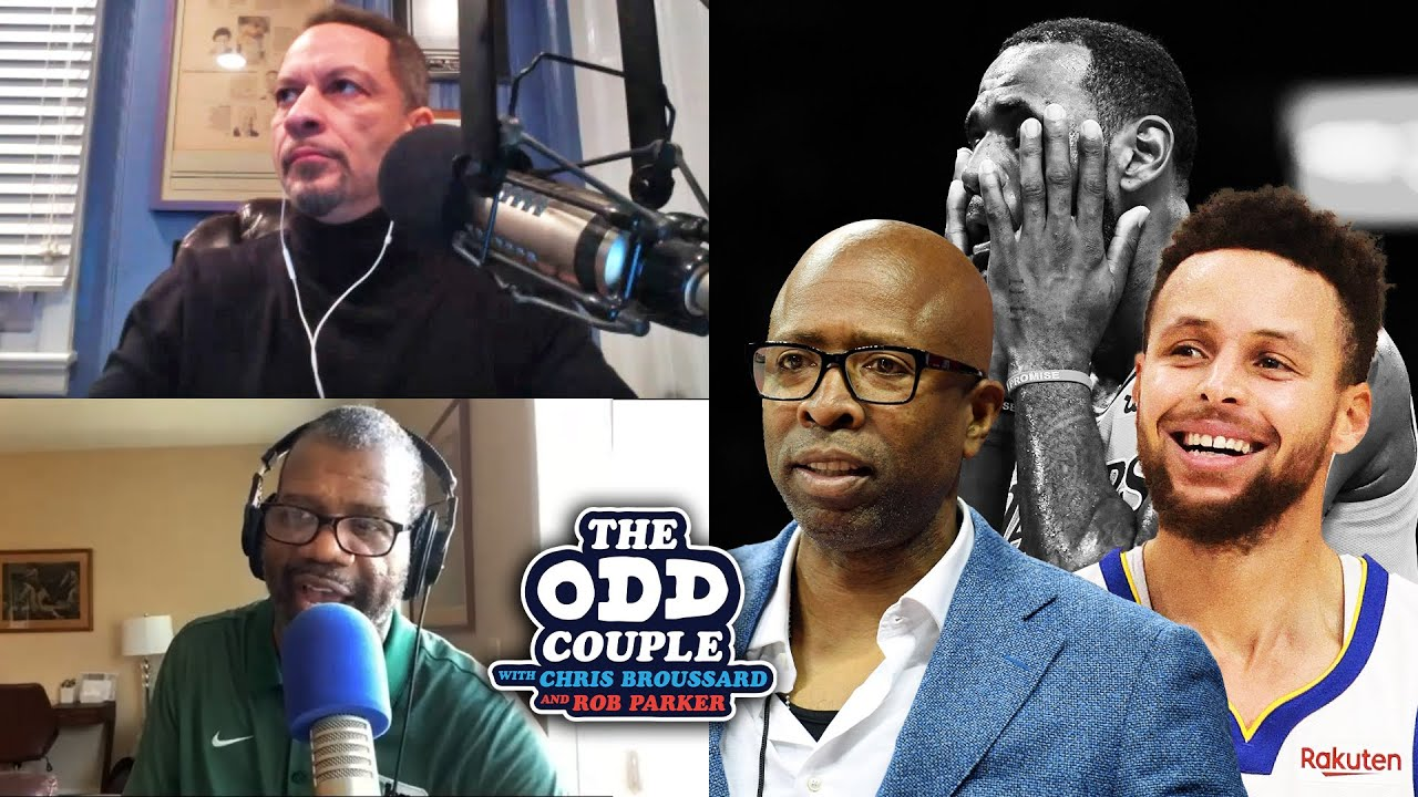 Kenny 'The Jet' Smith Says Steph Curry Has Surpassed LeBron as Best in the World | THE ODD COUPLE