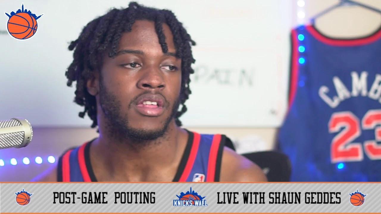 Postgame Pouting with @iHateShaun (Knicks Lay Down for Hawks 113-96)