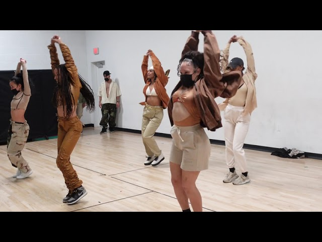"Tinashe - ""Pasadena"" Dance Rehearsals (Behind the Scenes)"