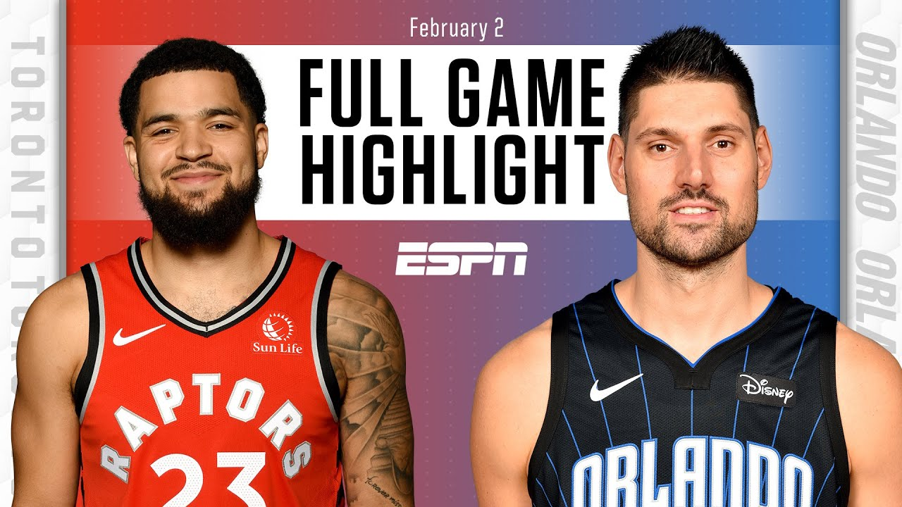Toronto Raptors vs. Orlando Magic [FULL GAME HIGHLIGHTS]   NBA on ESPN