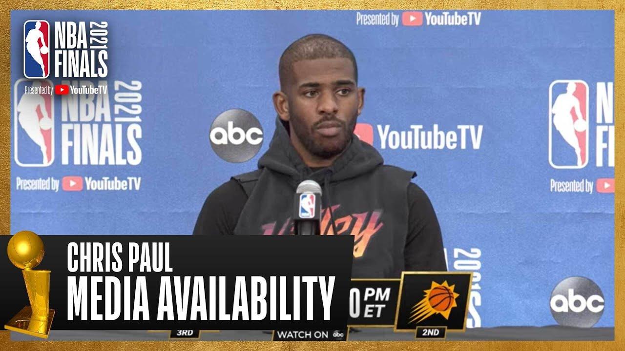 Chris Paul #NBAFinals Media Availability   July 5th, 2021