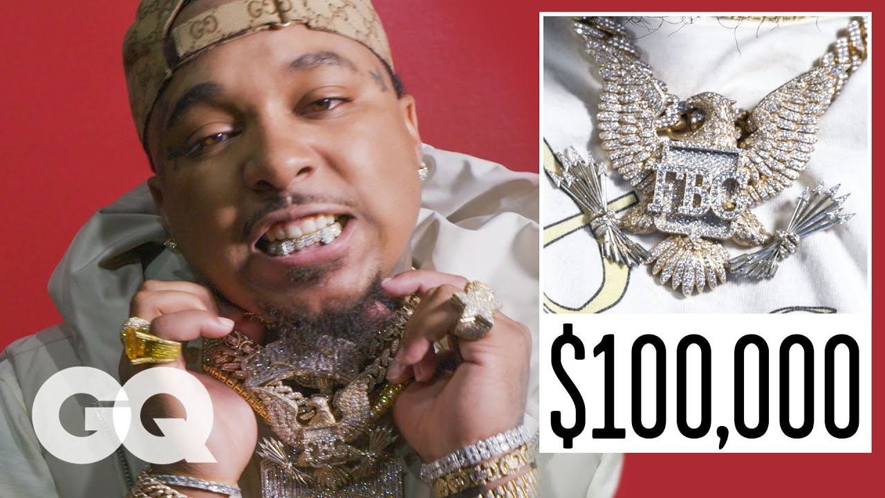 Doe Boy Shows Off His Insane Jewelry Collection   On the Rocks   GQ