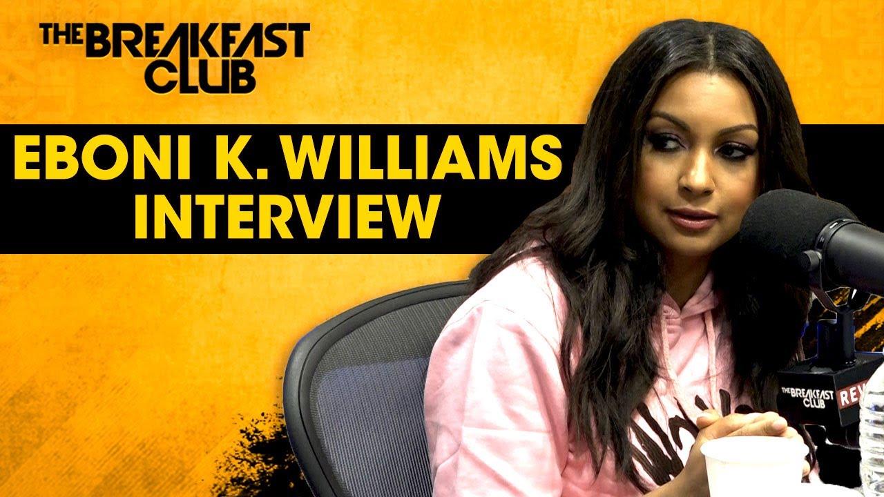 Eboni K. Williams Talks RHONY, White Fragility, Relationships, Britney Spears + More
