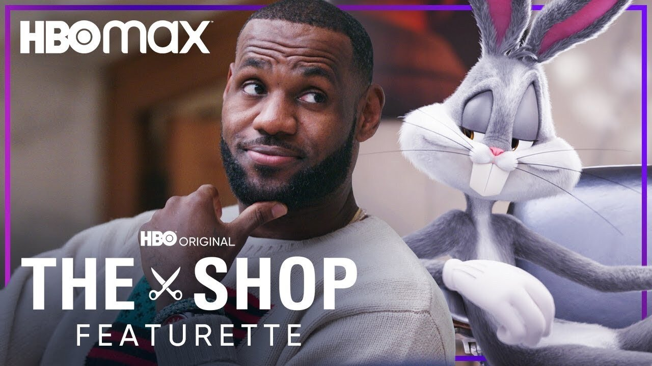 LeBron James & Bugs Bunny Talk Space Jam: A New Legacy   THE SHOP: UNINTERRUPTED