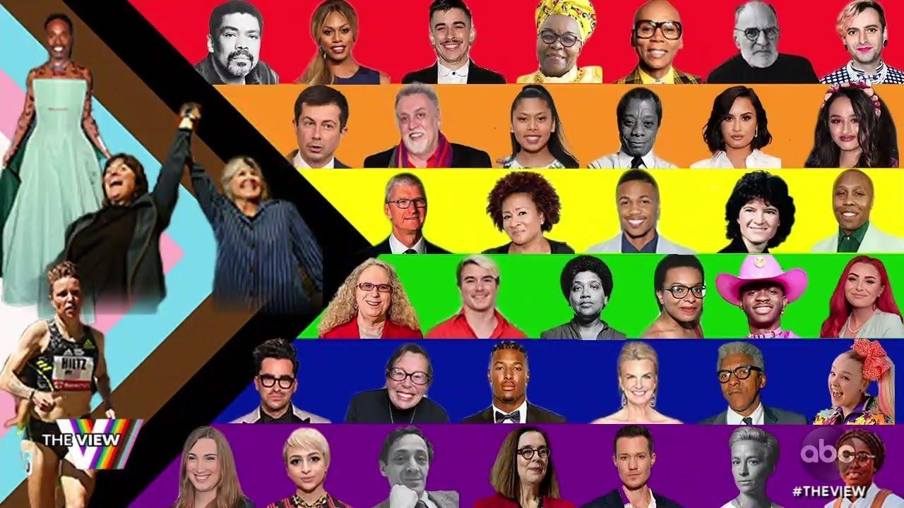 Pride Month: Trailblazing Athletes   The View