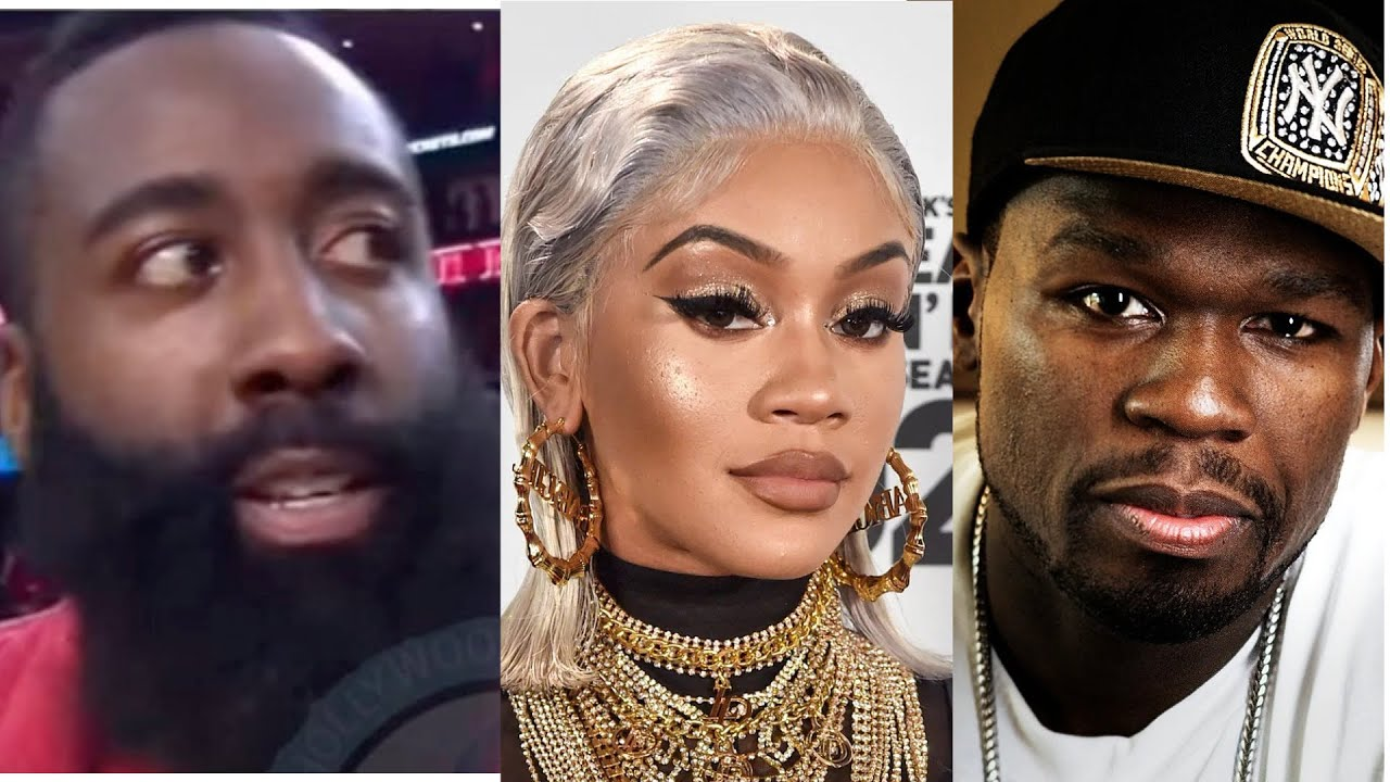 Saweetie gets disrespected in public by 50 Cent, James Harden speaks about him paying $100k for date