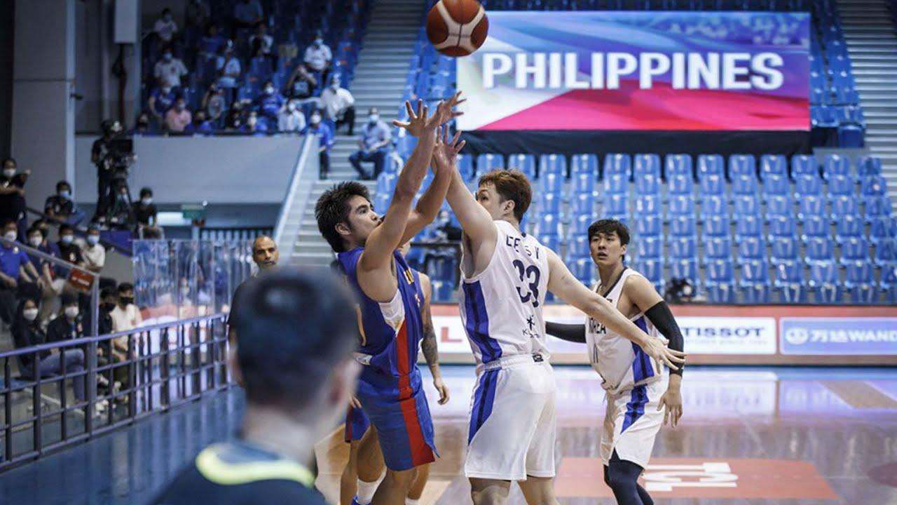 SJ Belangel for the win!   FIBA Asia Cup 2021 Qualifiers: Gilas Pilipinas vs South Korea