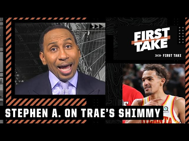 Trae Young 'embarrassed' the Bucks with his shimmy - Stephen A.   First Take
