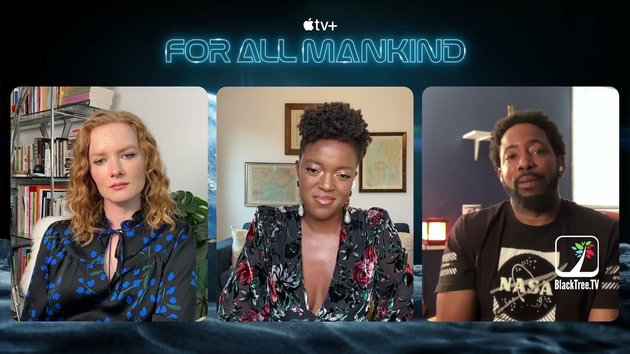 Wrenn Schmidt and Krys Marshall Interview For All Mankind Season 2 on tv+