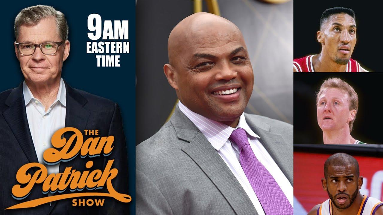 Charles Barkley Talks Scottie Pippen, NIL, Larry Bird and Suns in the NBA Finals   DAN PATRICK SHOW