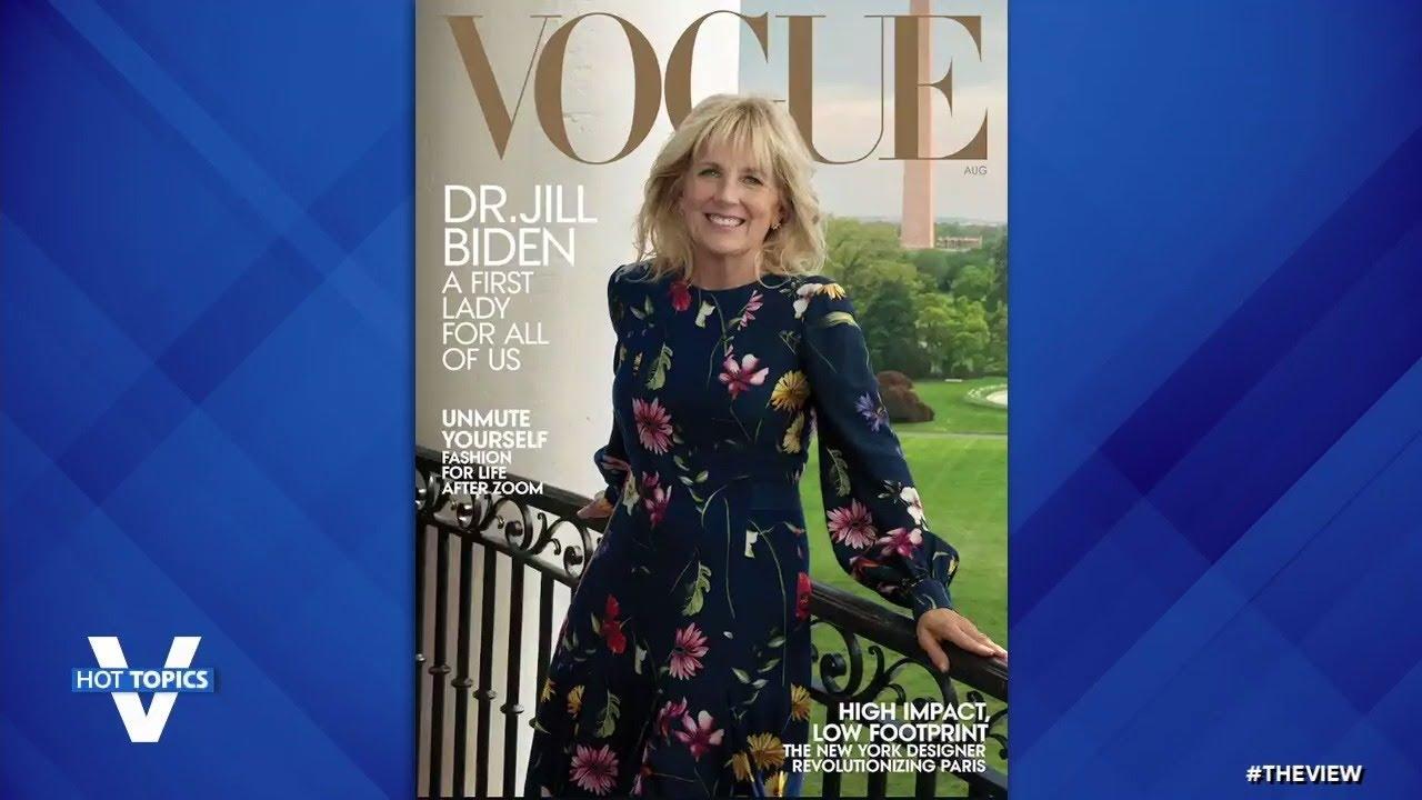 Dr. Jill Biden Graces Cover Of Vogue | The View