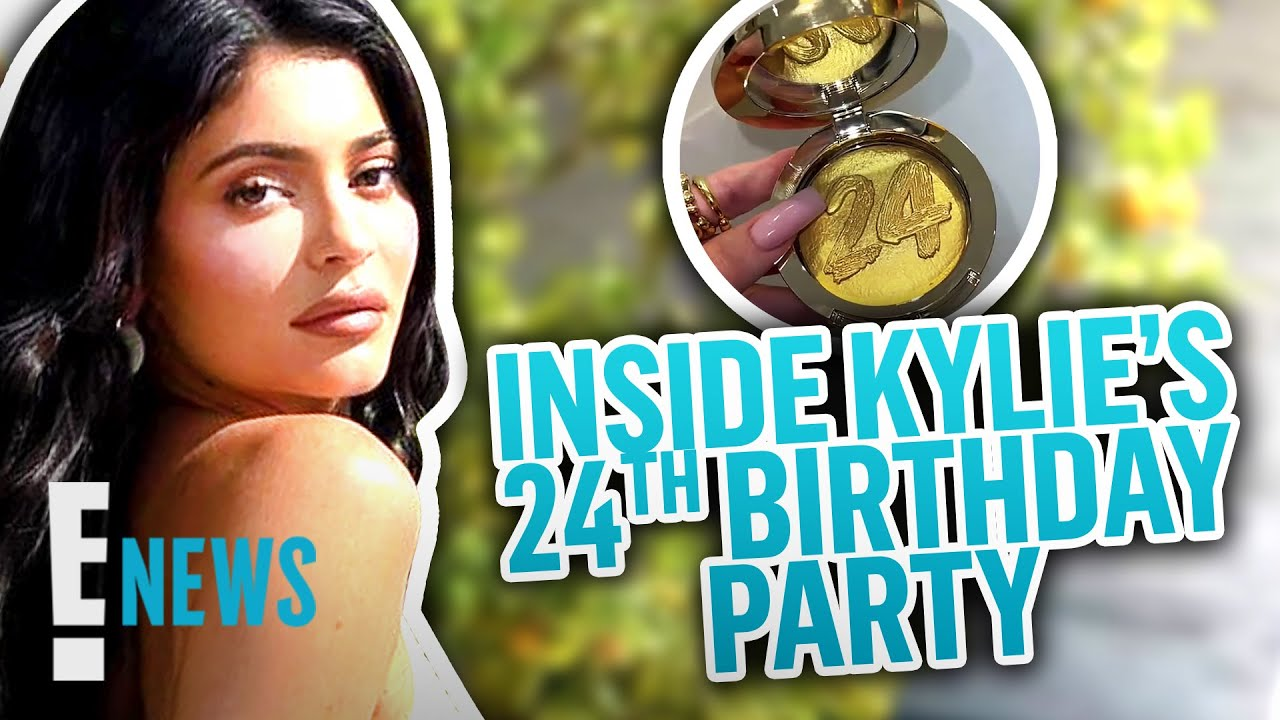 Inside Kylie Jenner's 24thBirthday Party | E! News