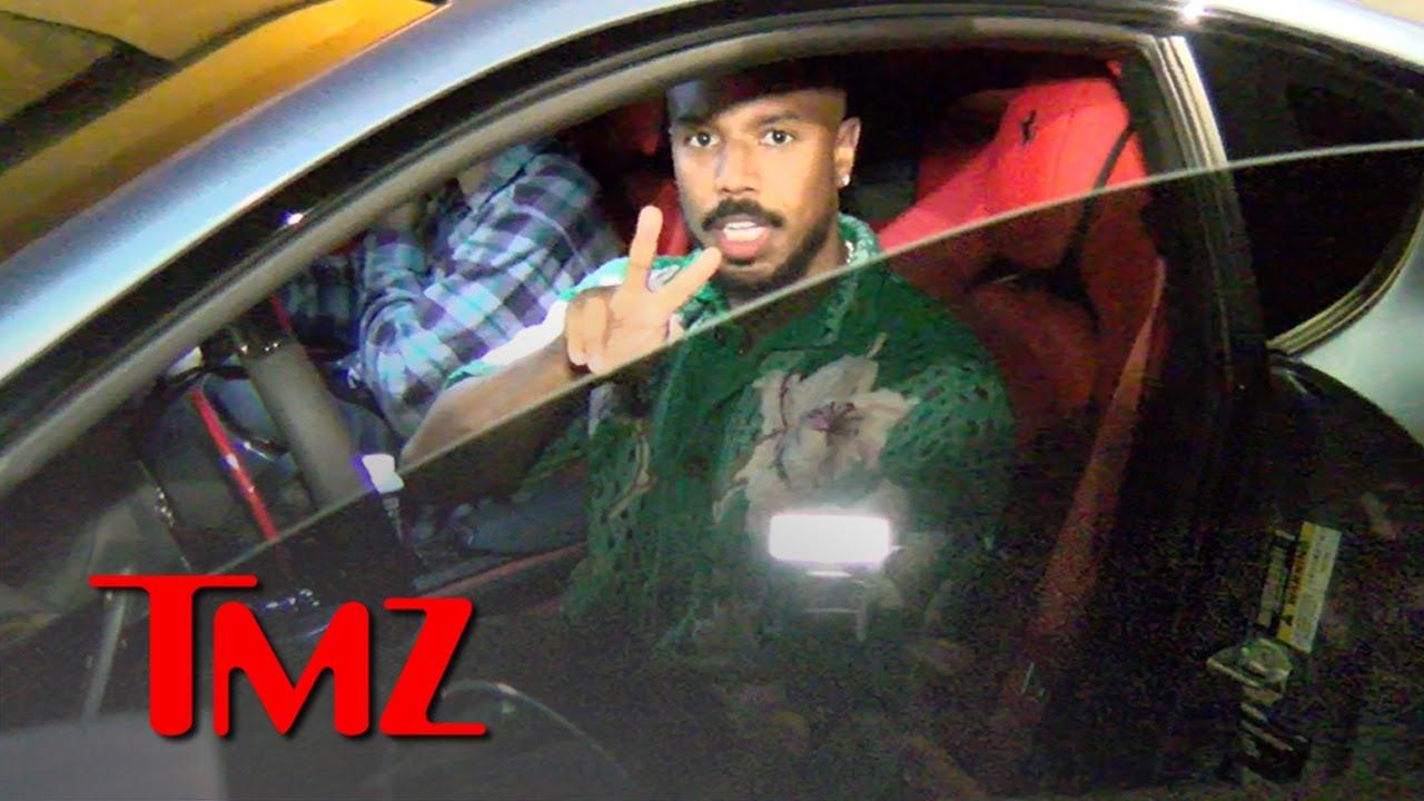 Michael B. Jordan Responds to Denzel Comparison, Plays Humble | TMZ