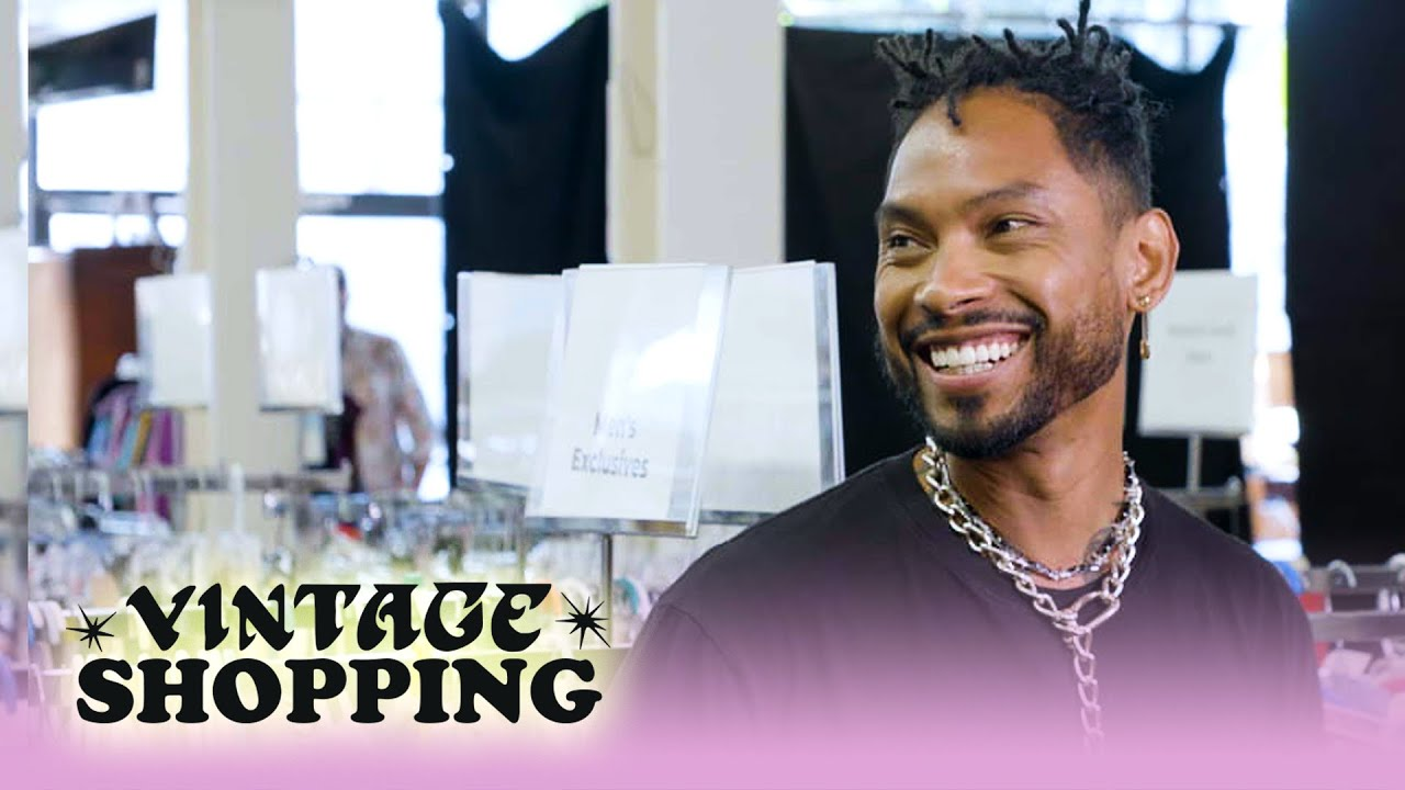 Miguel Goes Vintage Shopping With Complex