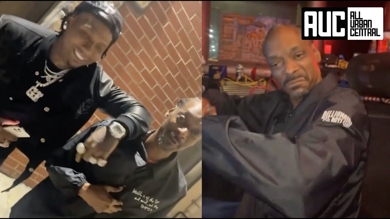 Moneybagg Yo Pulls Up On Snoop Dogg Studio Session In LA