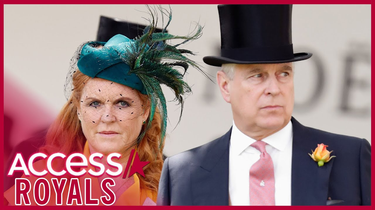 Prince Andrew & Ex Sarah Ferguson Visit Queen 1 Day After Virginia Giuffre Lawsuit